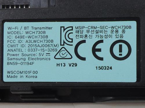 modulo wi-fi tv samsung un55ju6500g - bn59-01194f