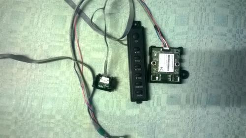 módulo wifi con botonera y sensor ir smart tv panavox bgh 48