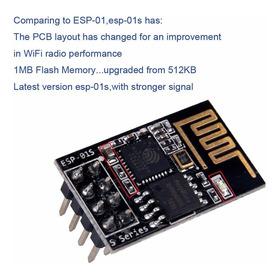 Módulo Wifi Esp8266 Esp-01s  Version Actualizada Ssdielect