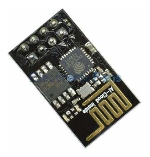 módulo wifi esp8266 esp01 con stack tcp ip arduino arm pic
