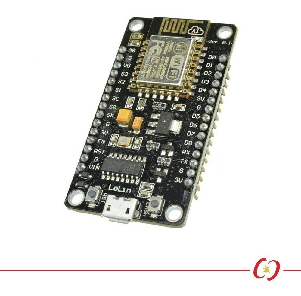 Módulo Wifi Esp8266 Nodemcu V3 Lolin Com Chip Ch340g