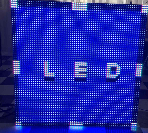 modulos 1mtx1mt  exterior para pantalla led picht 6 exterior