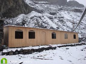 Módulos Casas Almacén Cuartos Prefabricados De Madera