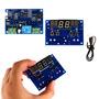 12v Controlador Led Termostato Digital Inteligente