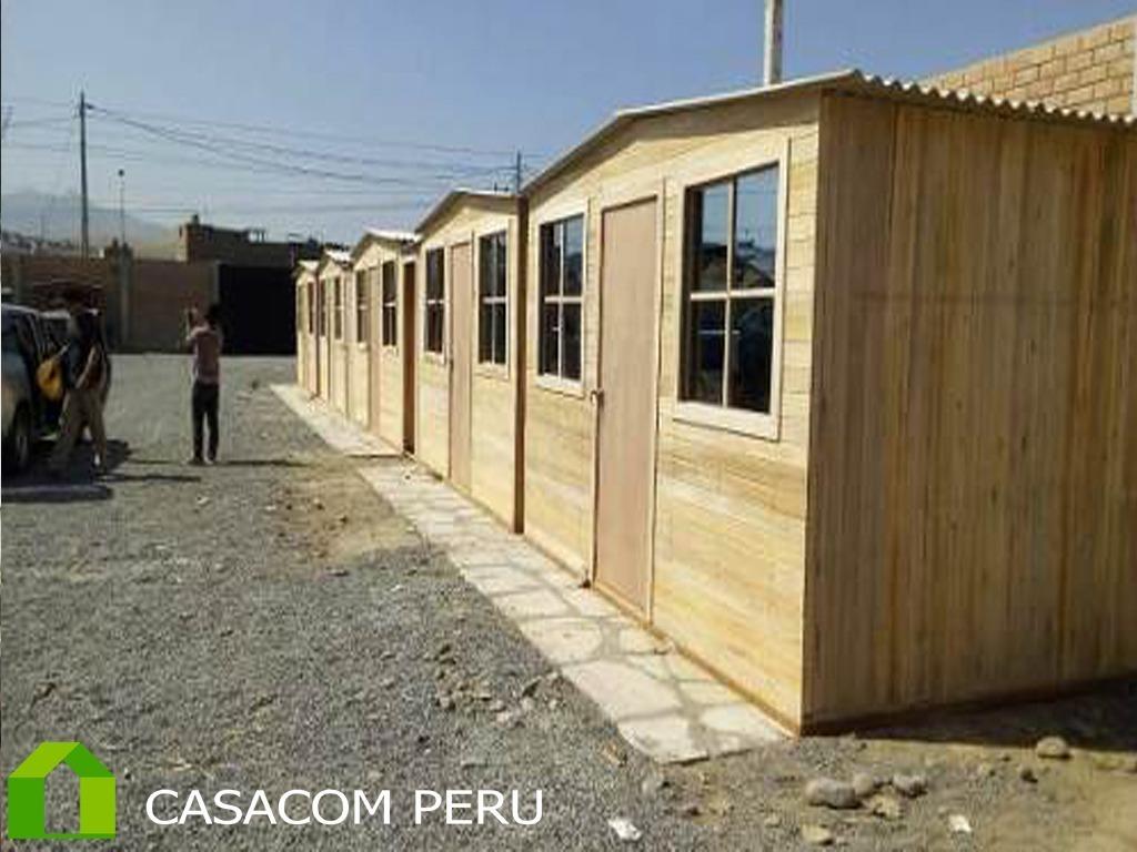 Modulos De Madera Y Habitaciones Prefabricadas En Lima Peru