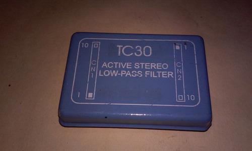 modulos generador de estereo y filtro pasa bajos profesional