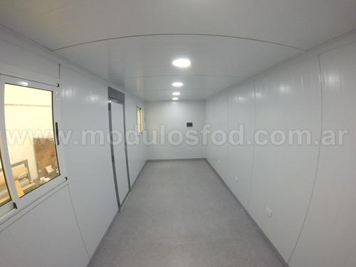 modulos habitables casilla rural trailer - cap. fed.