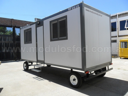 modulos habitables casilla rural trailer - chaco