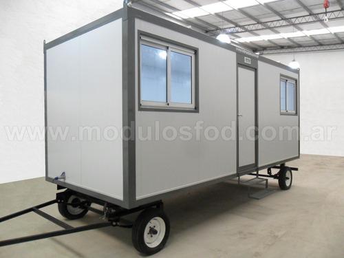 modulos habitables casilla rural trailer - mendoza