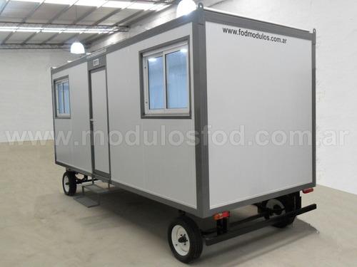 modulos habitables casilla rural trailer - san luis