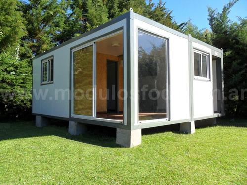 modulos habitables habitacional cabaña casa movil mendoza