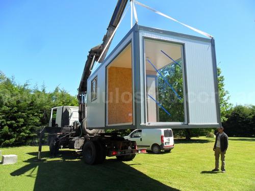 modulos habitables habitacional cabaña casa movil neuquen