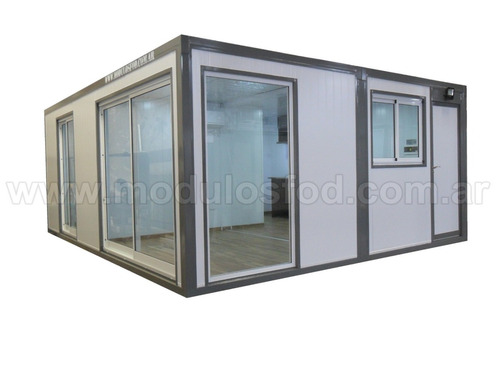 modulos habitables habitacional cabaña casa movil rio negro