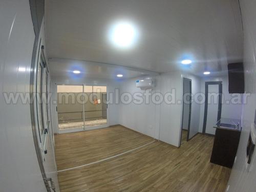 modulos habitables habitacional cabaña casa movil san luis
