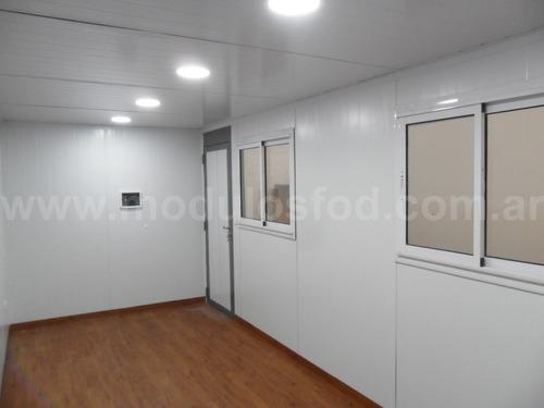 modulos habitables - habitacional oficina movil  chaco