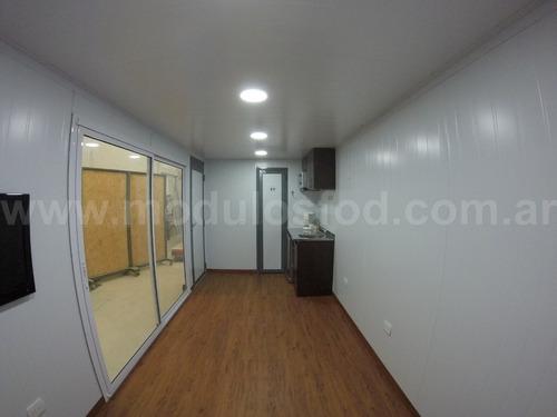 modulos habitables habitacionales cabaña casa  -cap. fed.