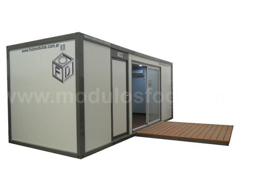 modulos habitables habitacionales cabaña casa  - la plata