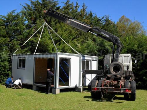 modulos habitables habitacionales cabaña casa movil la plata