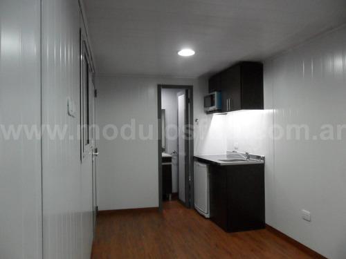 modulos habitables - habitacionales casa movil - cap. fed.