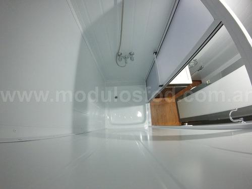 modulos habitables - habitacionales casa movil - la plata