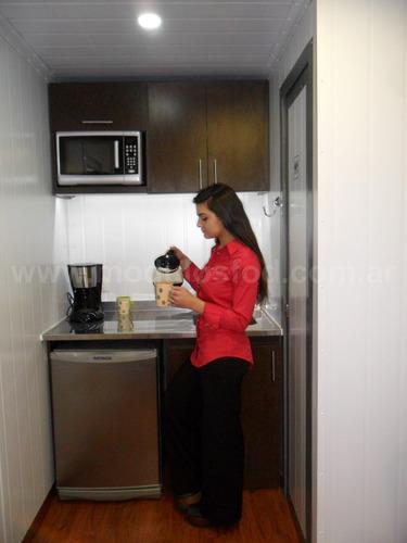 modulos habitables habitacionales oficina chaco