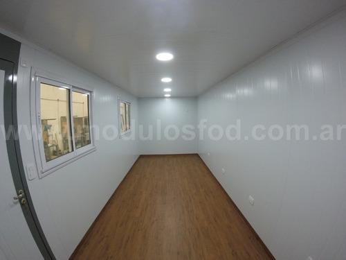 modulos habitables - habitacionales oficina movil - cap. fed