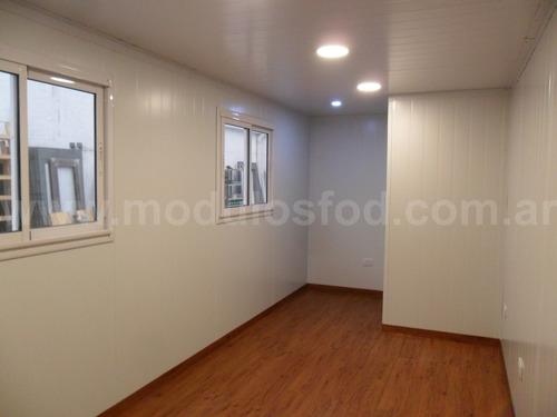 modulos habitables habitacionales oficina movil- chaco
