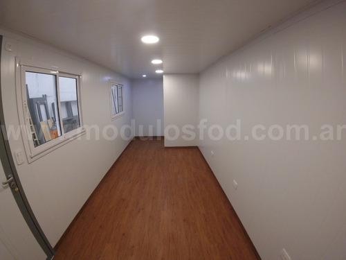 modulos habitables habitacionales oficina movil- rio negro