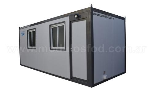 modulos habitables - habitacionales oficina movil  rio negro