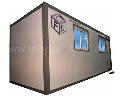 modulos habitables - habitacionales oficina movil  san luis
