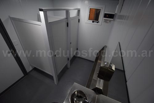 modulos habitables modulo sanitario - mendoza