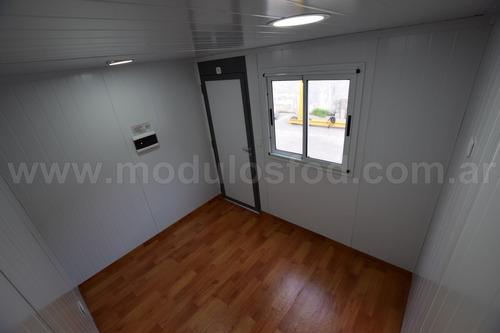 modulos habitables - oficina movil 3mts - chaco