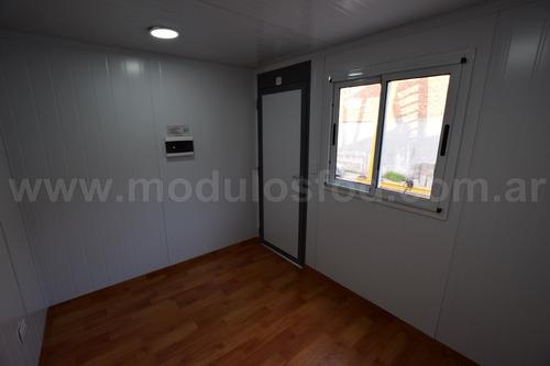 modulos habitables - oficina movil 3mts - entre rios