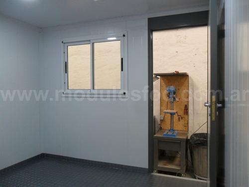 modulos habitables - oficina movil 3mts - la plata
