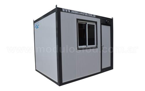 modulos habitables - oficina movil 3mts - san luis