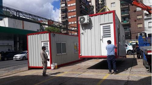 módulos habitables, oficinas, pañoles, baños. venta y alq.