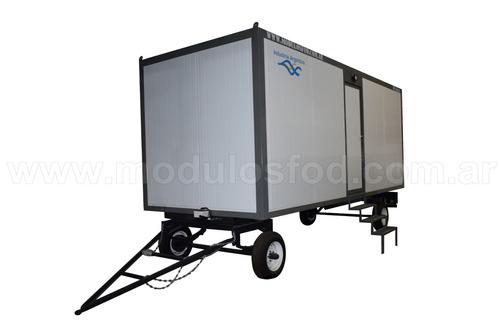 módulos habitables trailer homologado - río negro