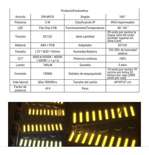 módulos led alta potencia / capsula led 12v /24v