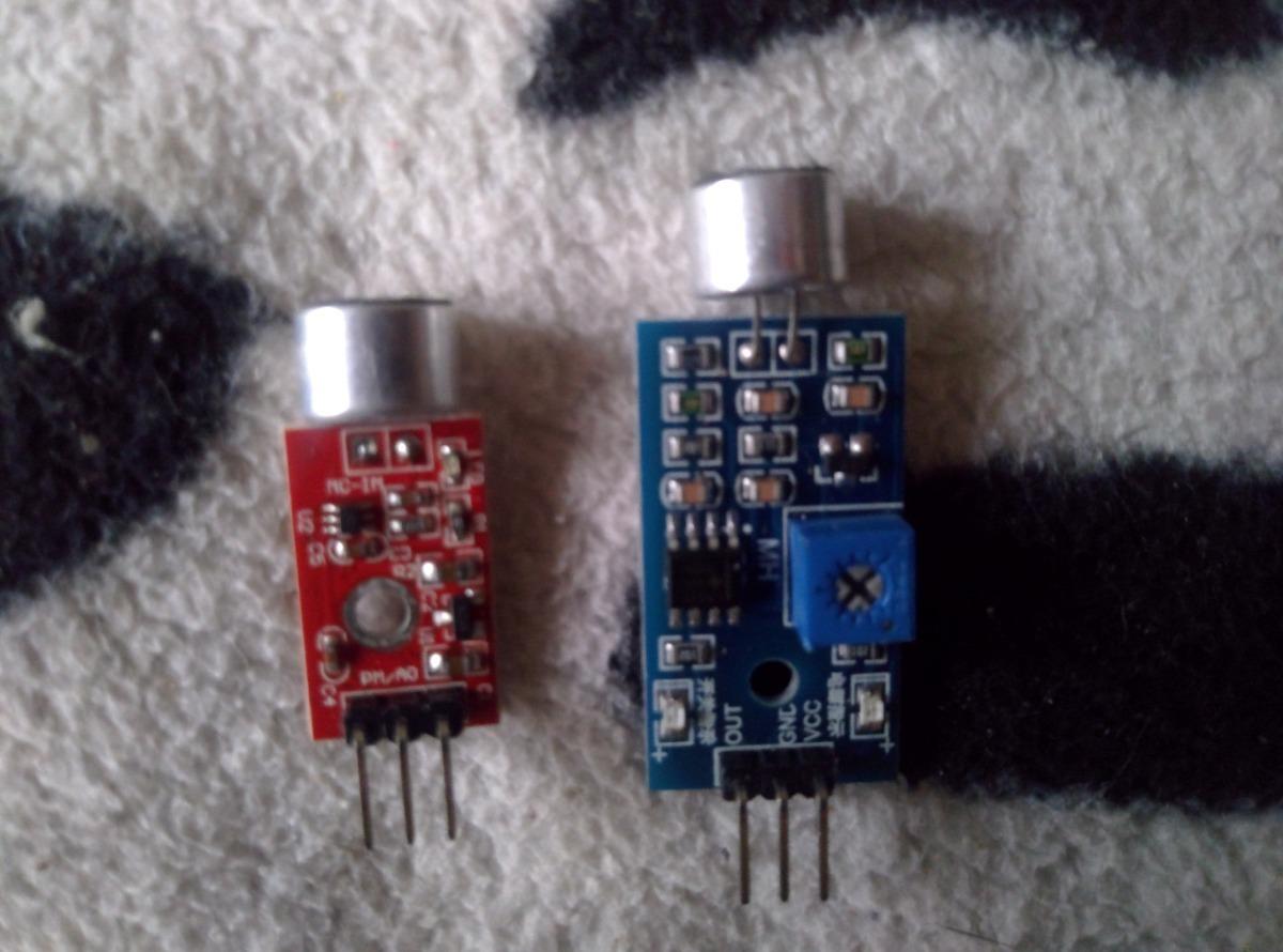 Modulos Microfono Sensor De Sonido Para Arduino 15 000