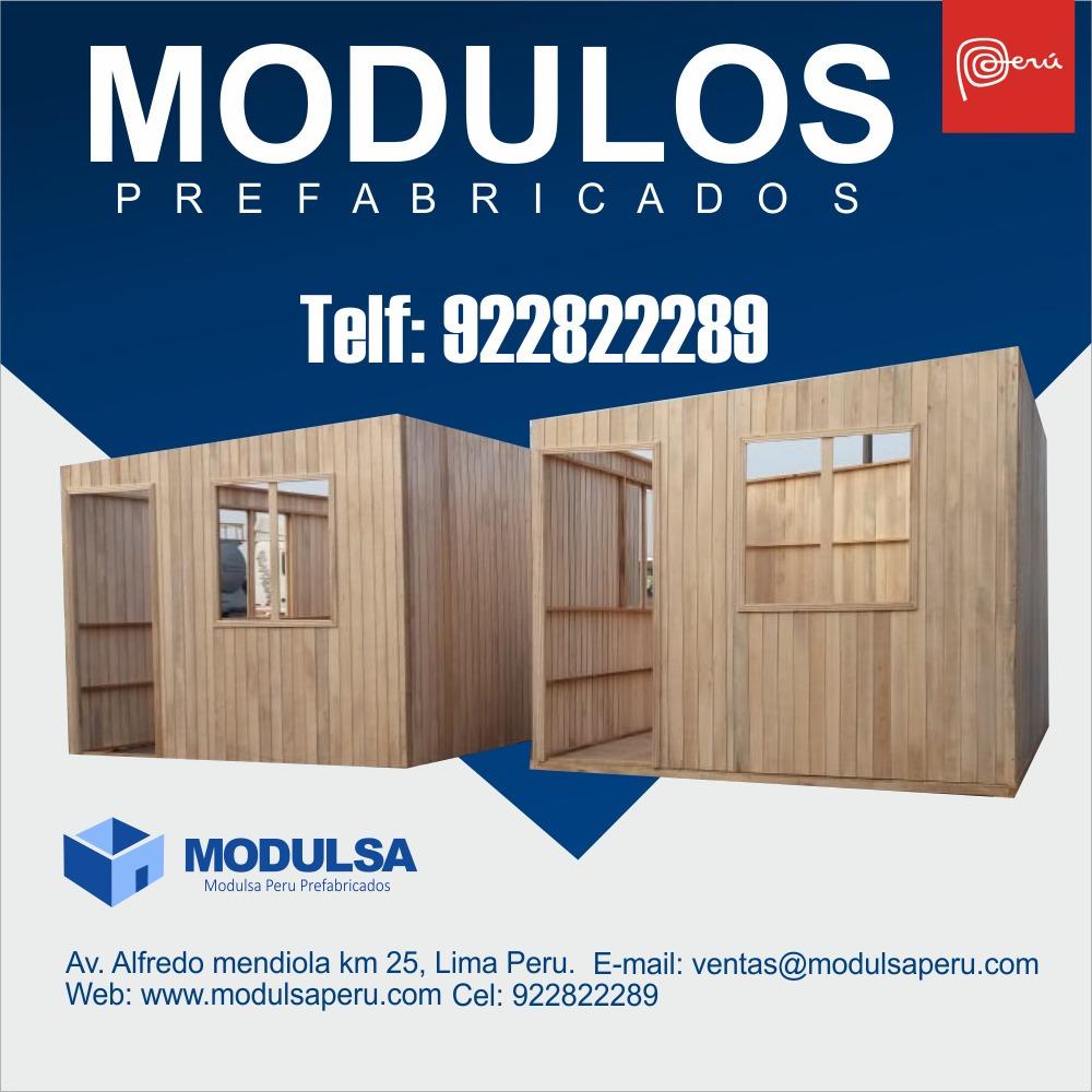 modulos para obras| oficinas|cuartos|aulas en peru