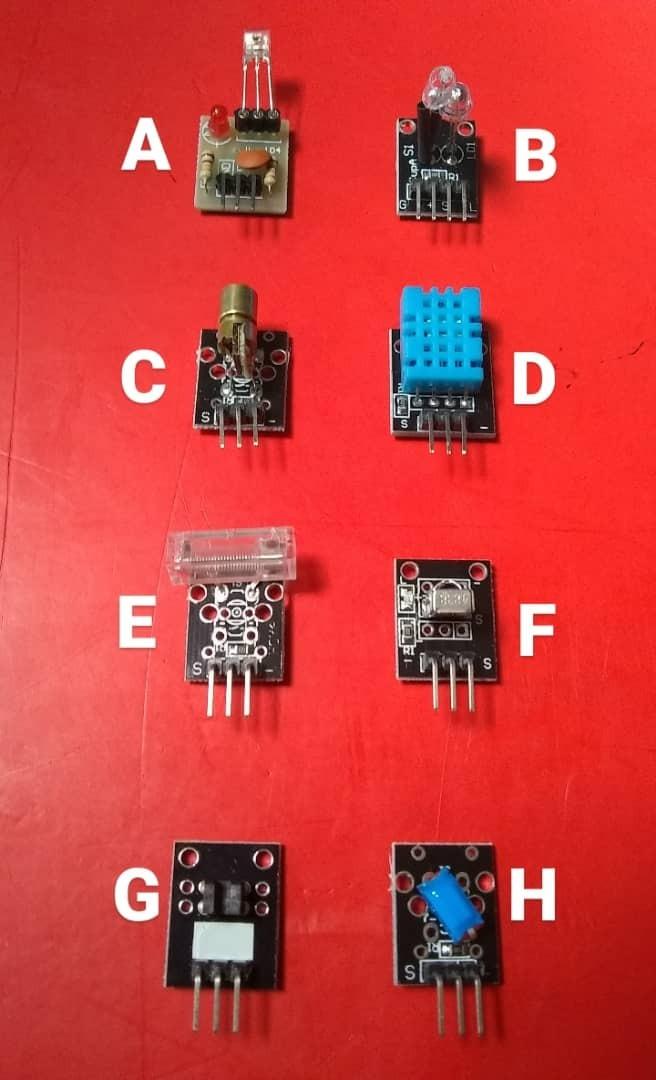 Módulos Y Sensores Para Arduino
