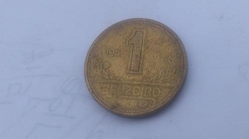 moeda 1 cruzeiro 1945 com sigla