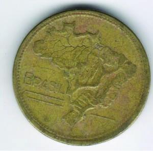 moeda 1 cruzeiro 1945 ref. 227