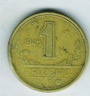 moeda 1 cruzeiro 1945 ref. 227 - r$ 1,60 cada