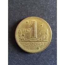 moeda 1 cruzeiro 1947