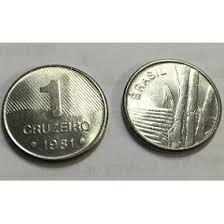 moeda 1 cruzeiro 1981