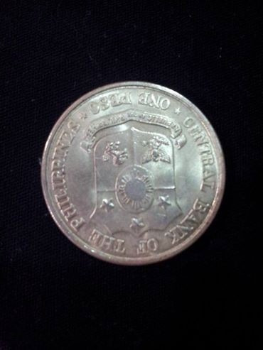 moeda 1 peso (100th anniversary birth of dr. jose rizal)