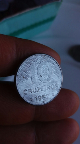 moeda 10 cruzeiros 1982