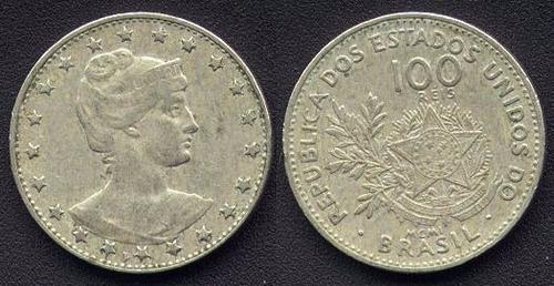 moeda 100 réis mcmi