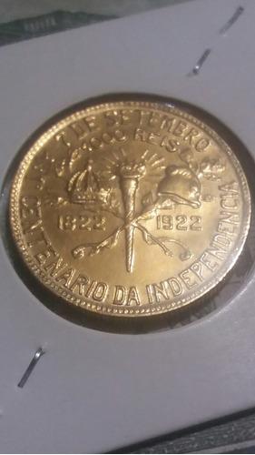 moeda 1000 bb mil reis flor de cunho conforme as